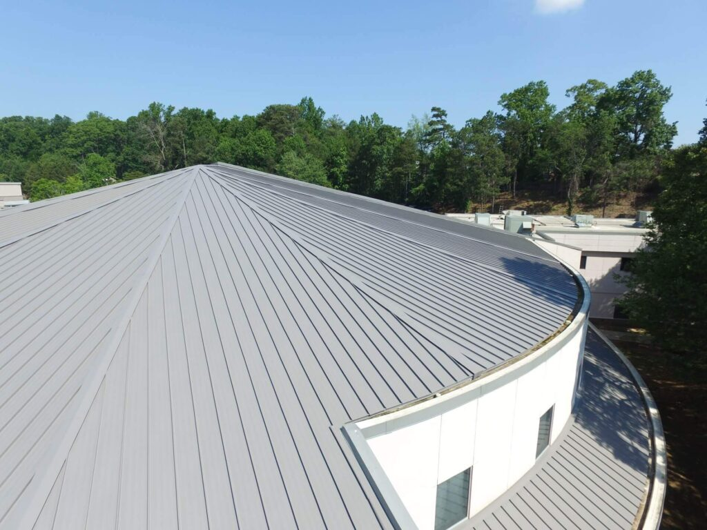 Tapered Panels Metal Roof-Florida Metal Roofers of Fort Myers